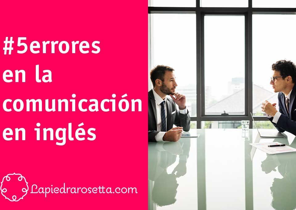 errores comunicación inglés empresa