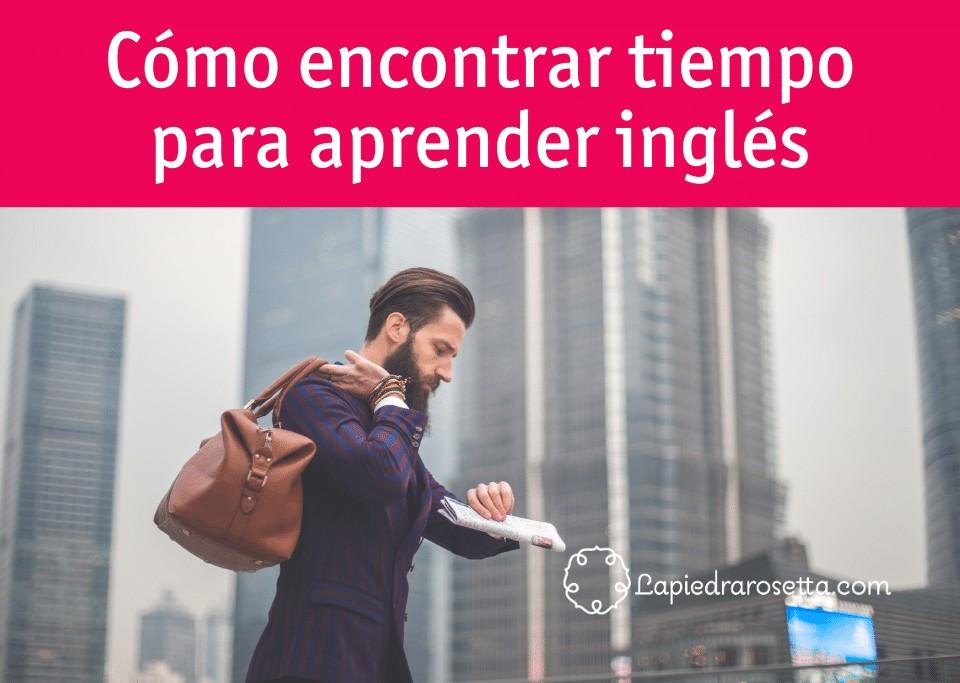 tiempo para aprender inglés
